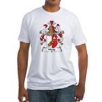 Hitzig Family Crest Fitted T-Shirt