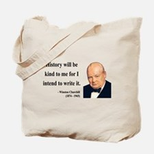 Winston Churchill 20 Tote Bag