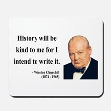 Winston Churchill 20 Mousepad