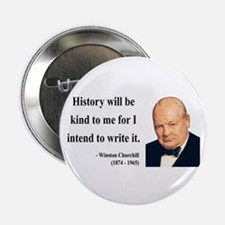 "Winston Churchill 20 2.25"" Button"