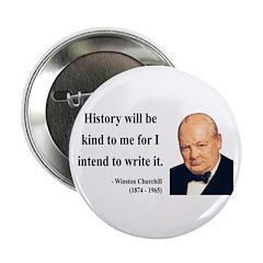 "Winston Churchill 20 2.25"" Button (100 pack)"