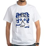Schell Family Crest White T-Shirt
