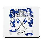 Schell Family Crest Mousepad