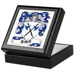Schell Family Crest Keepsake Box