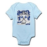 Schell Family Crest Infant Creeper