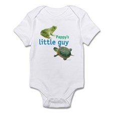 Pappy's little guy Infant Bodysuit
