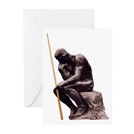 Thinker Greeting Cards (Pk of 10)