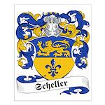 Scheller Family Crest Small Poster