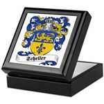 Scheller Family Crest Keepsake Box