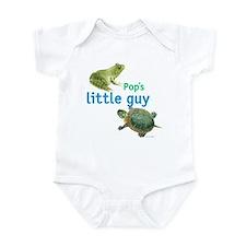 pop's little guy Infant Bodysuit