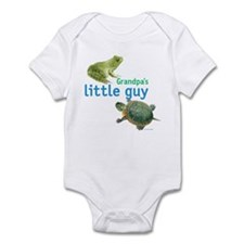 grandpa's little guy Infant Bodysuit