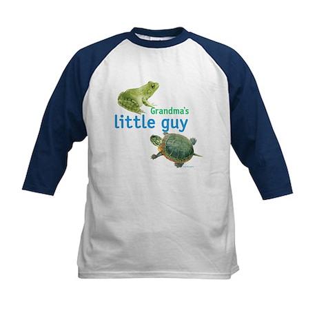 grandma's little guy Kids Baseball Jersey