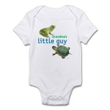 grandma's little guy Infant Bodysuit