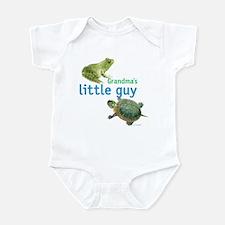 grandma's little guy Infant Bodysuit