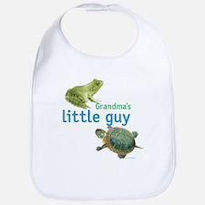 grandma's little guy Bib