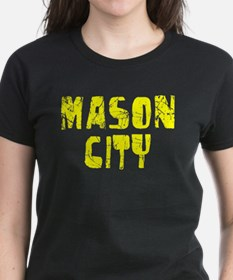 Mason City Faded (Gold) Tee