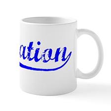 Vintage Plantation (Blue) Mug