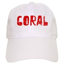 Coral Faded (Red) Baseball Cap