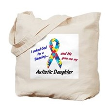 Blessing 3 (Autistic Daughter) Tote Bag