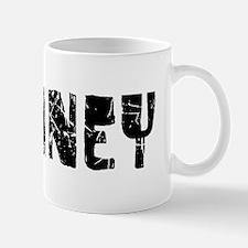 Delaney Faded (Black) Mug