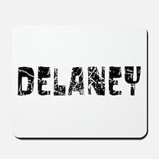 Delaney Faded (Black) Mousepad