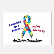 Blessing 3 (Autistic Grandson) Postcards (Package
