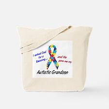 Blessing 3 (Autistic Grandson) Tote Bag