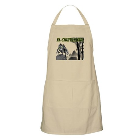 Chupacabra in the Woods 3 BBQ Apron
