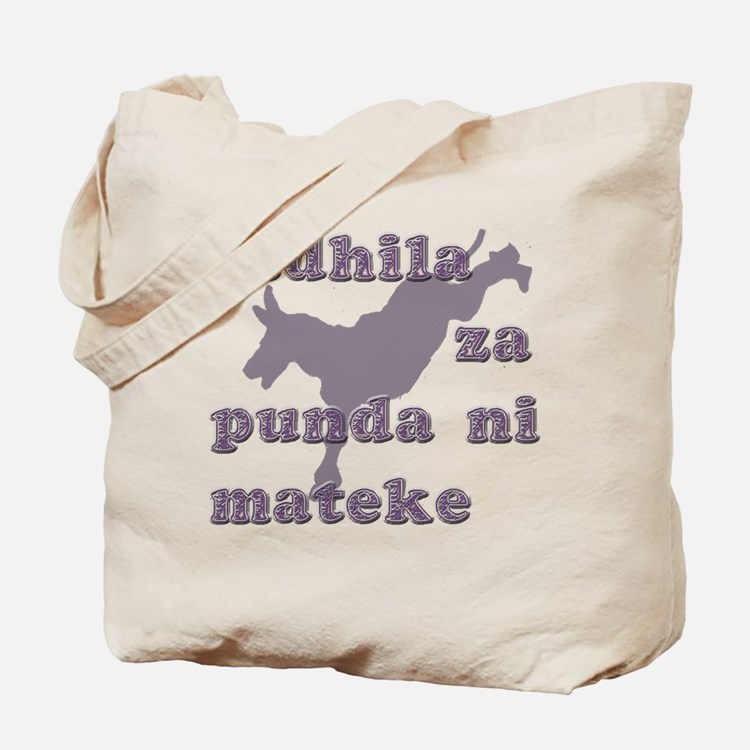 Swahili Sayings Bags & Totes