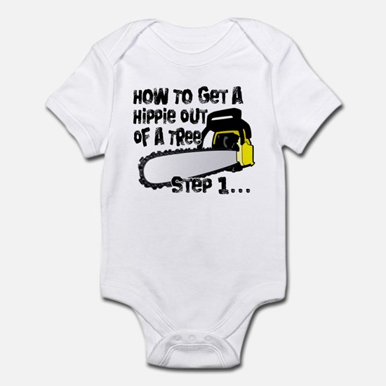 Got Hippies In Your Trees? Infant Bodysuit