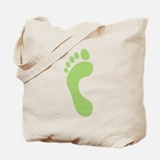 Footprint Tote Bag