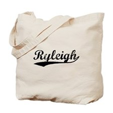 Vintage Ryleigh (Black) Tote Bag