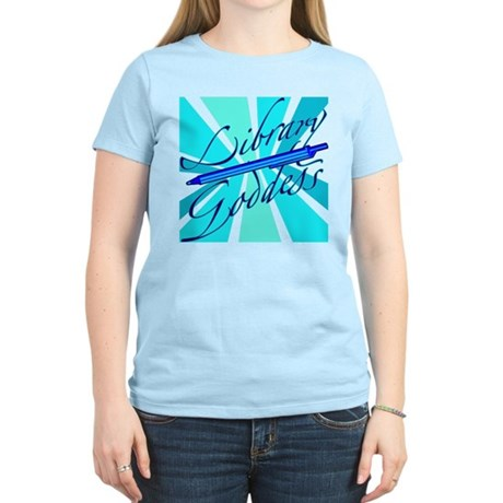 Library Goddess Women's Light T-Shirt