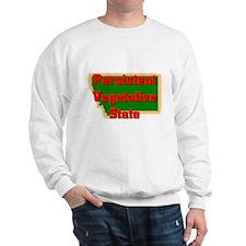 Montana Vegetative State Sweatshirt