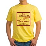 End the Madness Yellow T-Shirt