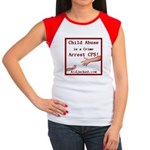 Arrest CPS Women's Cap Sleeve T-Shirt