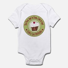 Personalized 1st Birthday Cupcake Infant Bodysuit