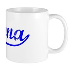 Vintage Pomona (Blue) Mug