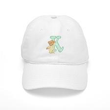 Teddy Alphabet K Green Baseball Cap