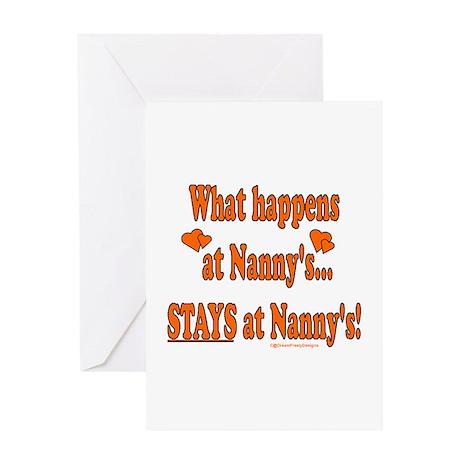 Nanny's House Greeting Card