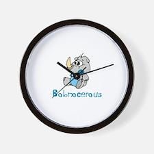 Bobnocerous Wall Clock