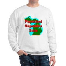 Michigan Vegetative State Sweatshirt
