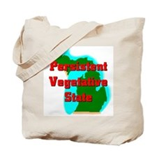 Michigan Vegetative State Tote Bag