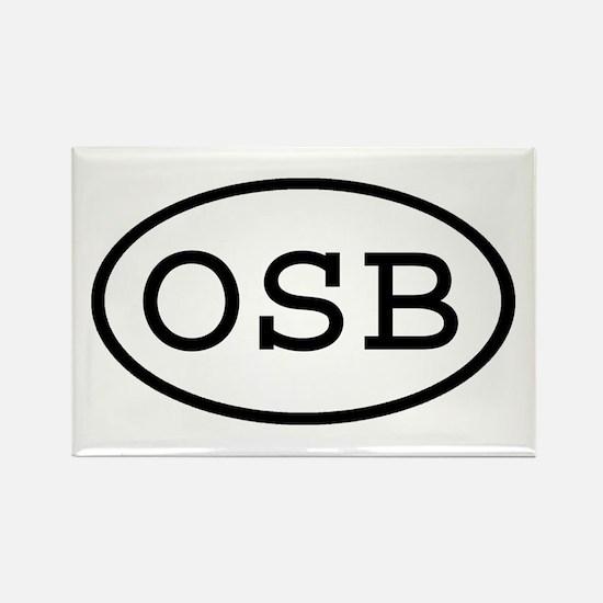 OSB Oval Rectangle Magnet