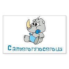Cameronnocerous Rectangle Decal