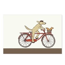 """Dog and Squirrel"" Postcards (Pkg of 8)"