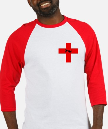 St George's Day Baseball Jersey