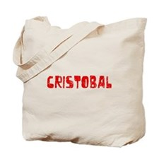 Cristobal Faded (Red) Tote Bag