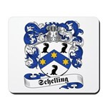 Schelling Family Crest Mousepad