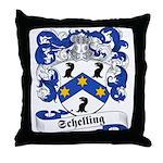 Schelling Family Crest Throw Pillow